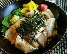イワシの海鮮丼