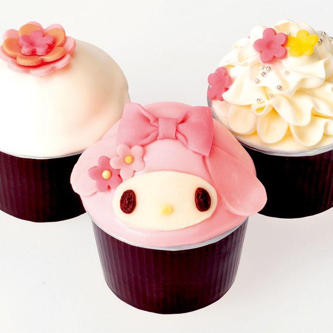 マイメロディカップケーキ