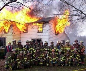 働く消防士