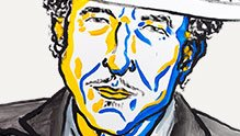 The Nobel Prize in Literature for 2016 is awarded to Bob Dylan