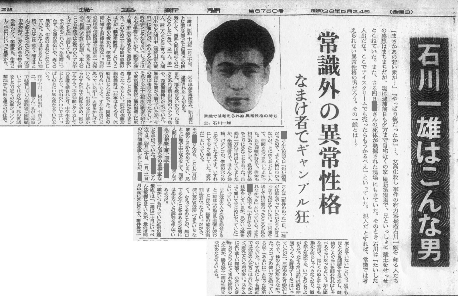 【狭山事件概要】狭山事件が発生月は、1964年の5月だ