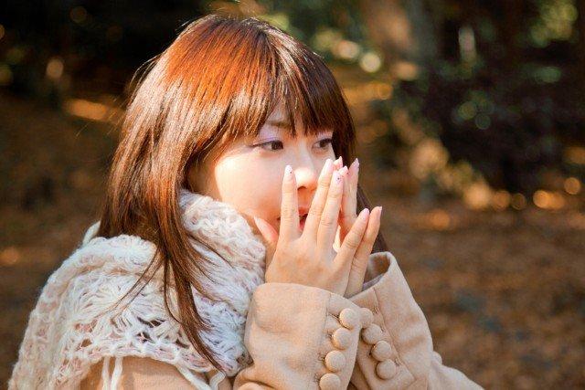 喉の粘膜の乾燥