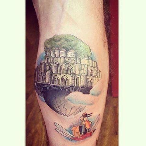 あの地平線輝くタトゥー