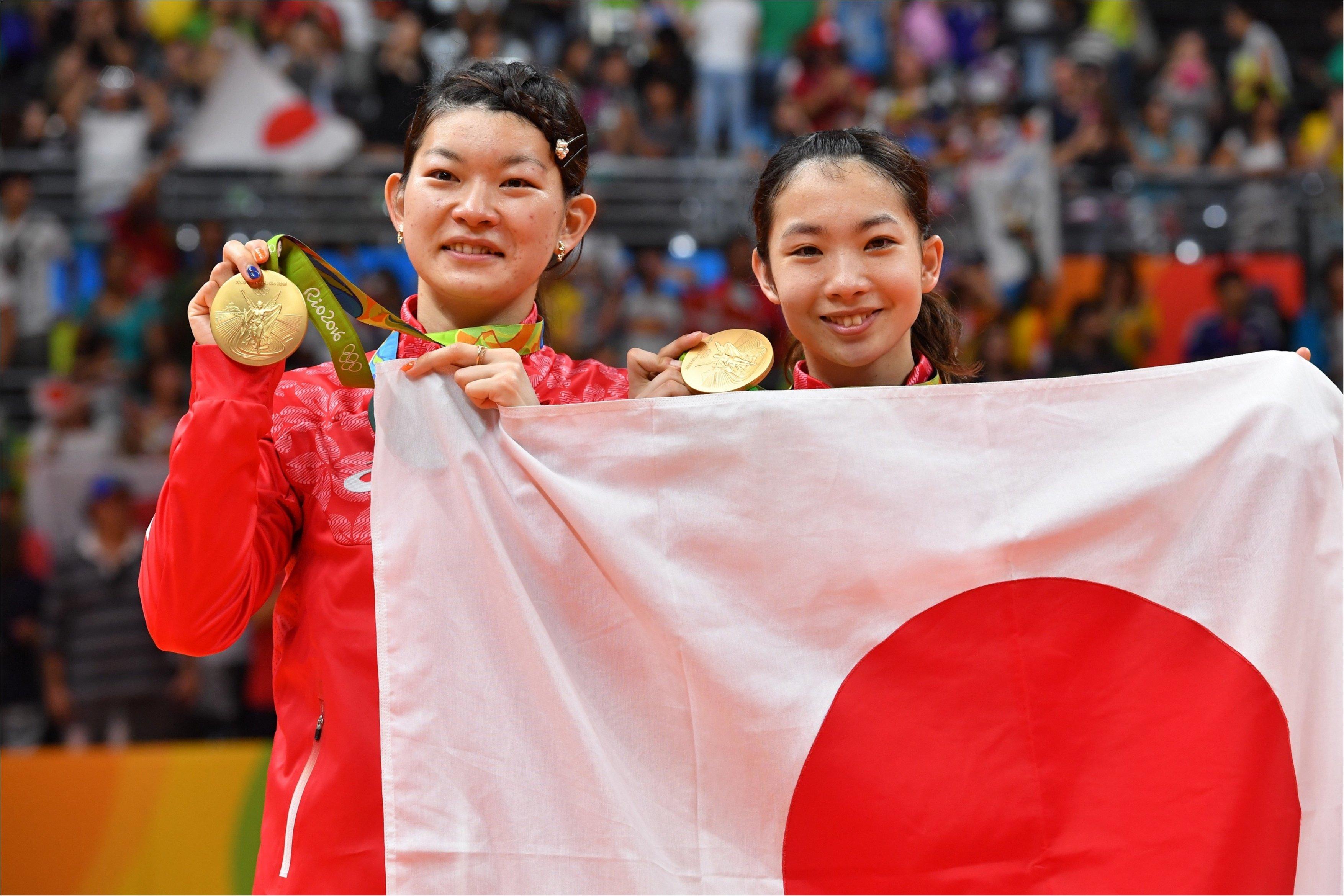 バドミントン・ダブルス日本代表の高橋礼華選手の「タカ」と松友美佐紀選手の「マツ」を取って「タカマツペア」