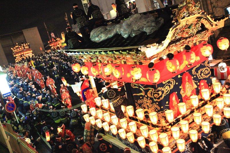 【埼玉県】秩父夜祭の屋台行事 と神楽 (国指定は昭和 54 年)