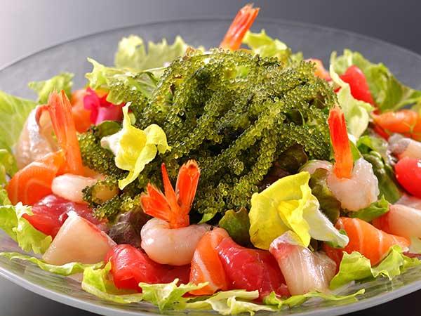 海ぶどう海鮮サラダ