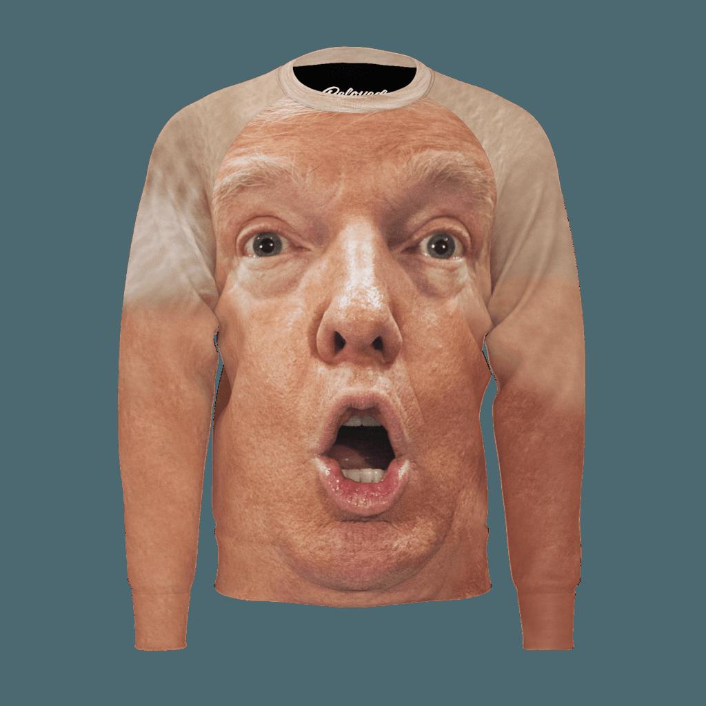 トランプコットンスウェットシャツ