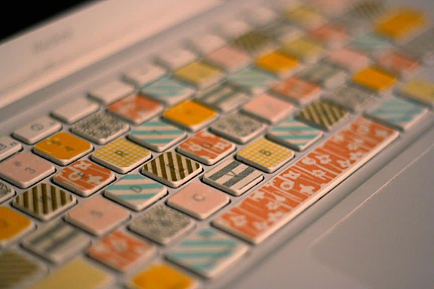 愛用のキーボードも