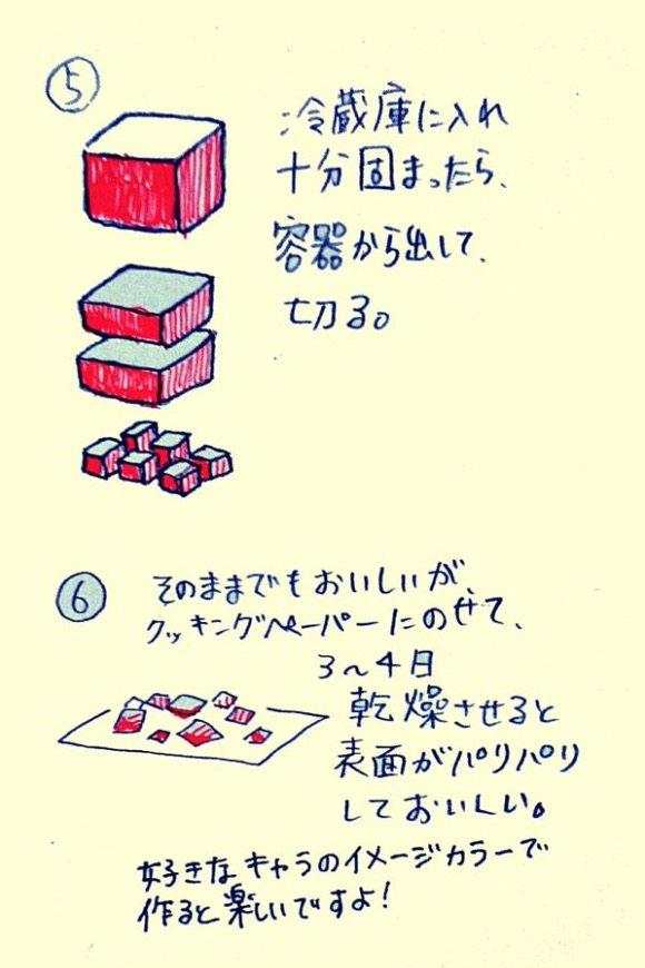 食べれられる石 レシピ2