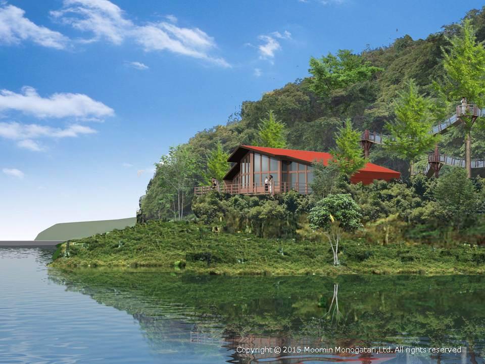 建設予定地のさいたま県飯能市宮沢湖