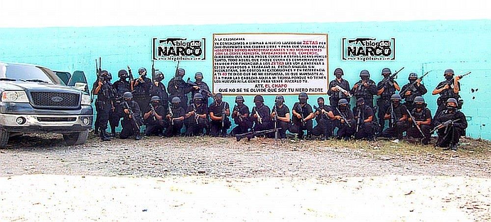 メキシコ最大級の麻薬組織「シナロア・カルテル」