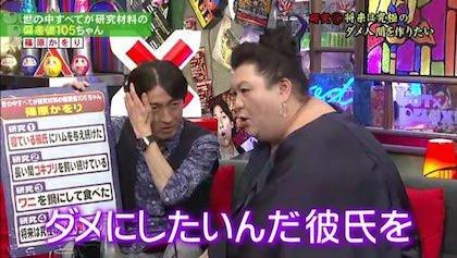 篠原かをりさん基本的に彼氏をダメにしたいらしいです笑