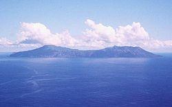 アナタハン島の全景