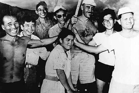 1950年に救出された比嘉和子さん