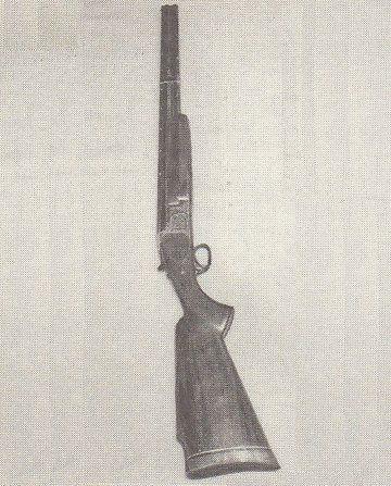 梅川の所持していた猟銃