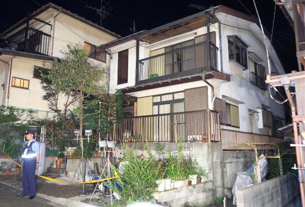 寺尾俊治さんの遺体が発見された住宅
