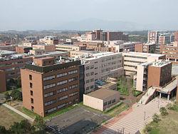 事件のあった筑波大学筑波キャンパス