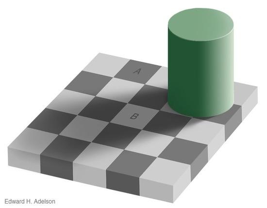AとBは同じ色です