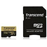 Transcend microSDXCカード 64GB UHS-I U3対応 MLC採用 (最大読込速度95MB/s) 無期限保証