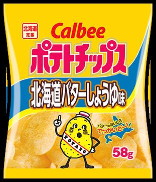 北海道バターしょうゆ味 (北海道)
