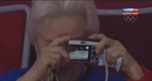 ソチ五輪で話題になったおばあちゃん