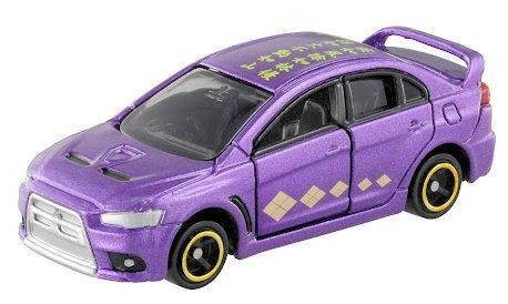 武田信玄トミカ。車種は「三菱自動車 ランサーエボリューションX」