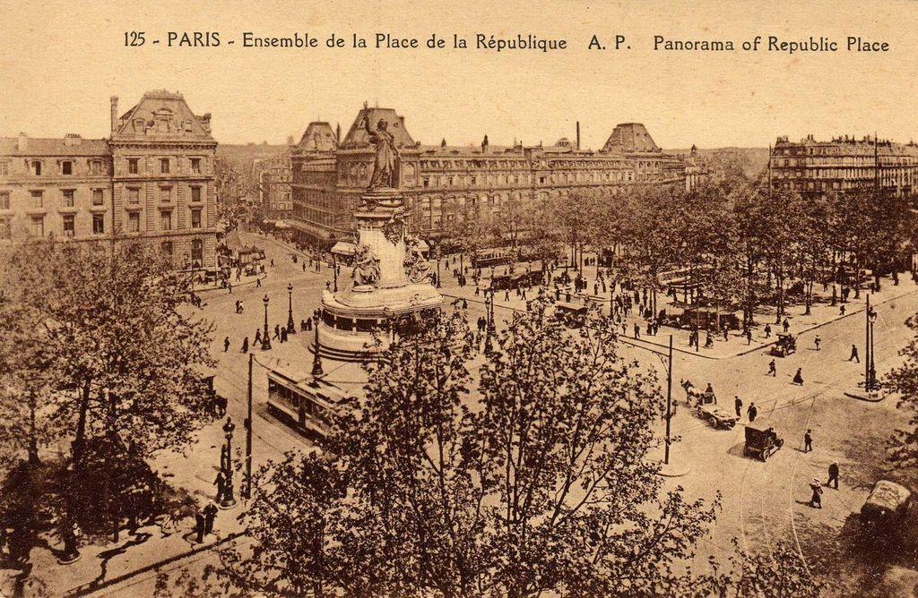 停車駅・パリ