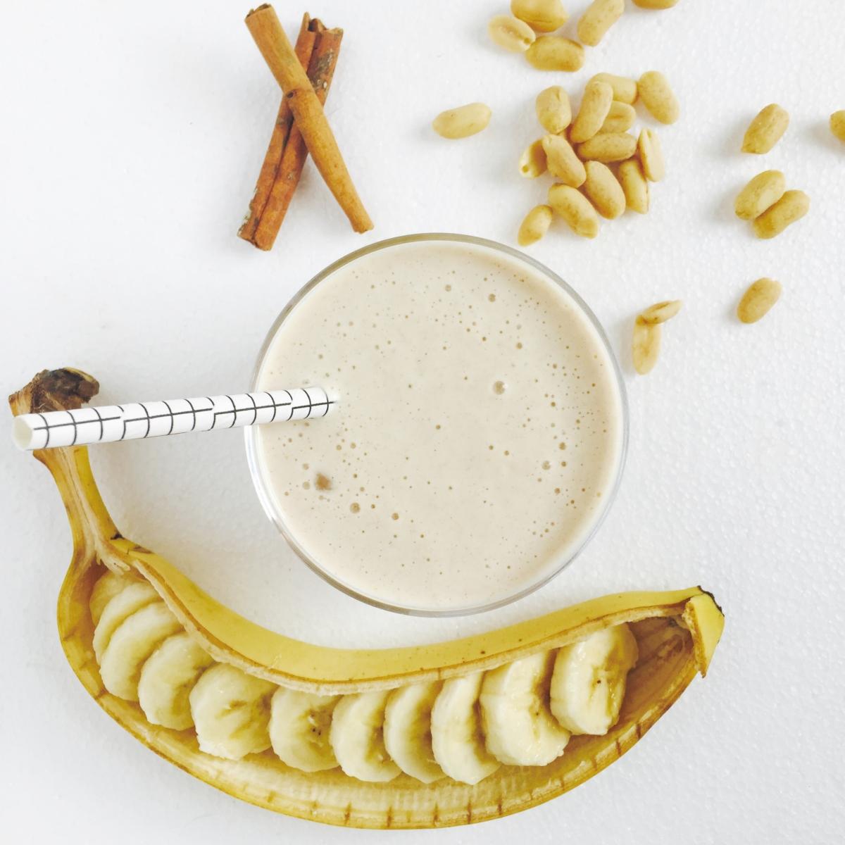 シナモンホットミルクバナナ