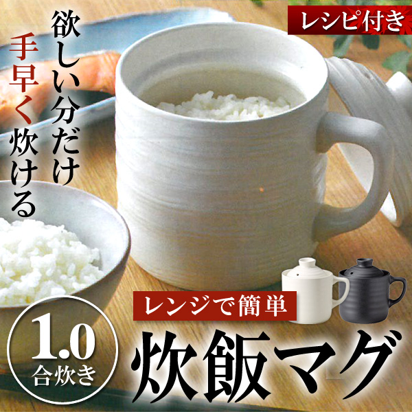 7分で炊きあがる 電子レンジ用 炊飯器 1合炊き【電子レンジ楽炊御前T-01 】