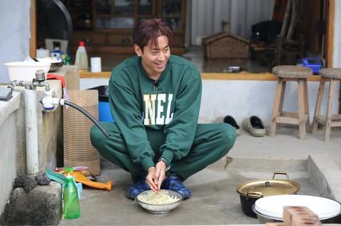 調理中のエリック