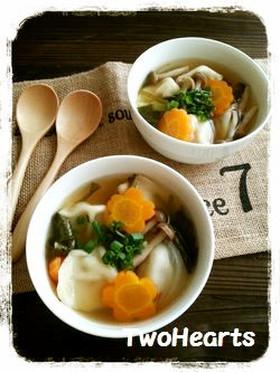 体ポカポカ(●^o^●)スープ水餃子
