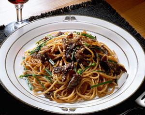 焼き肉スパゲティ