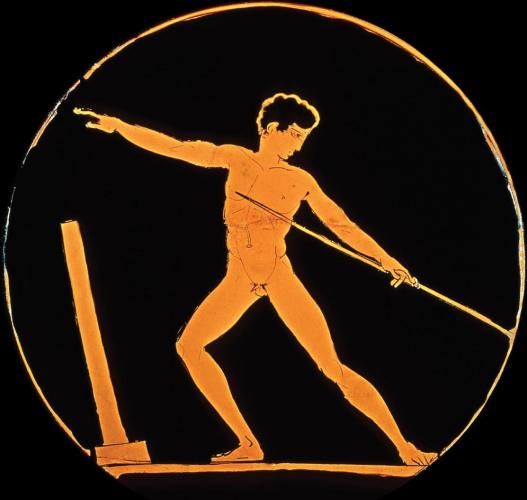 大英博物館 「ミュロンの円盤投げ」