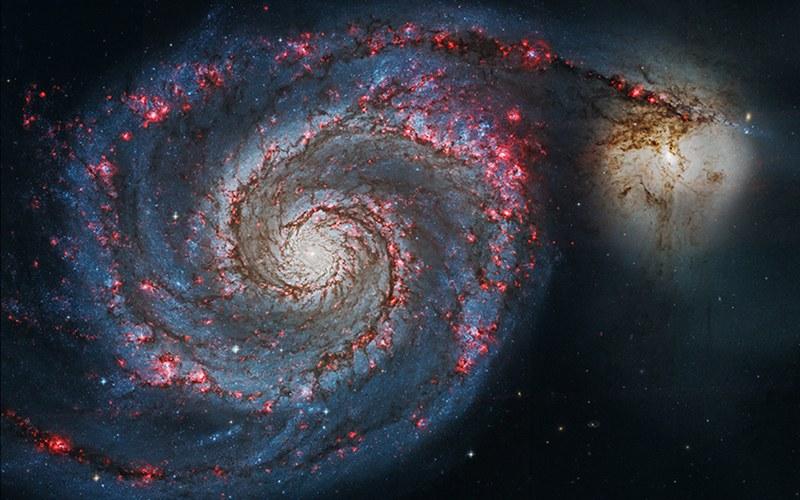 Galaxy NGC5195