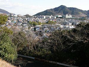 事件が発生した神戸市須磨区のベッドタウン