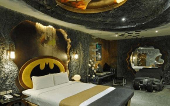バットマンの?ベッド