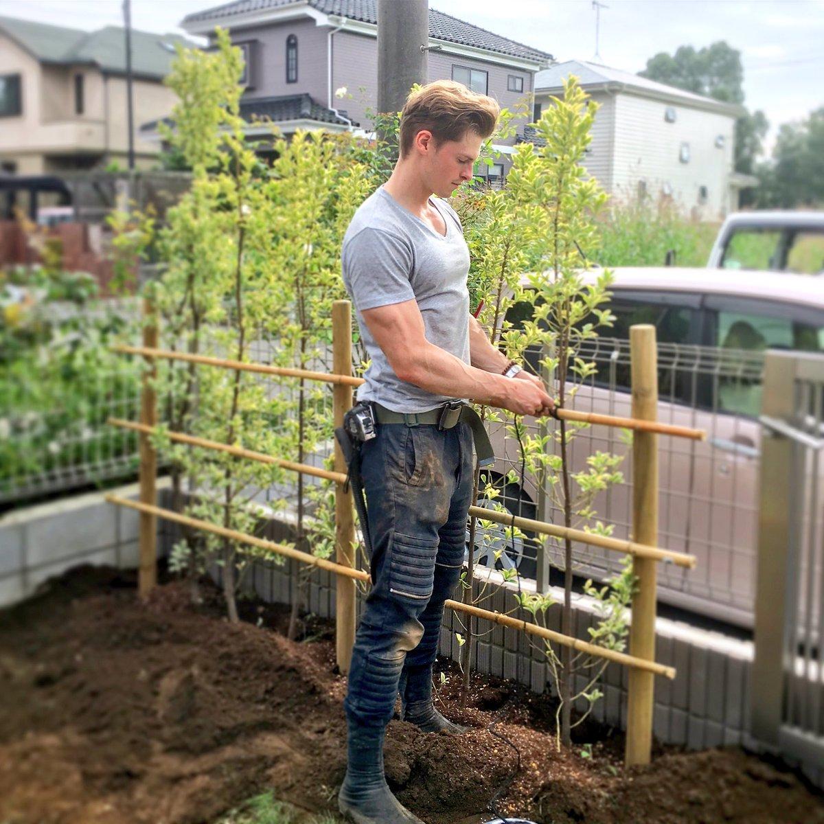 庭師として働く村雨辰剛さん