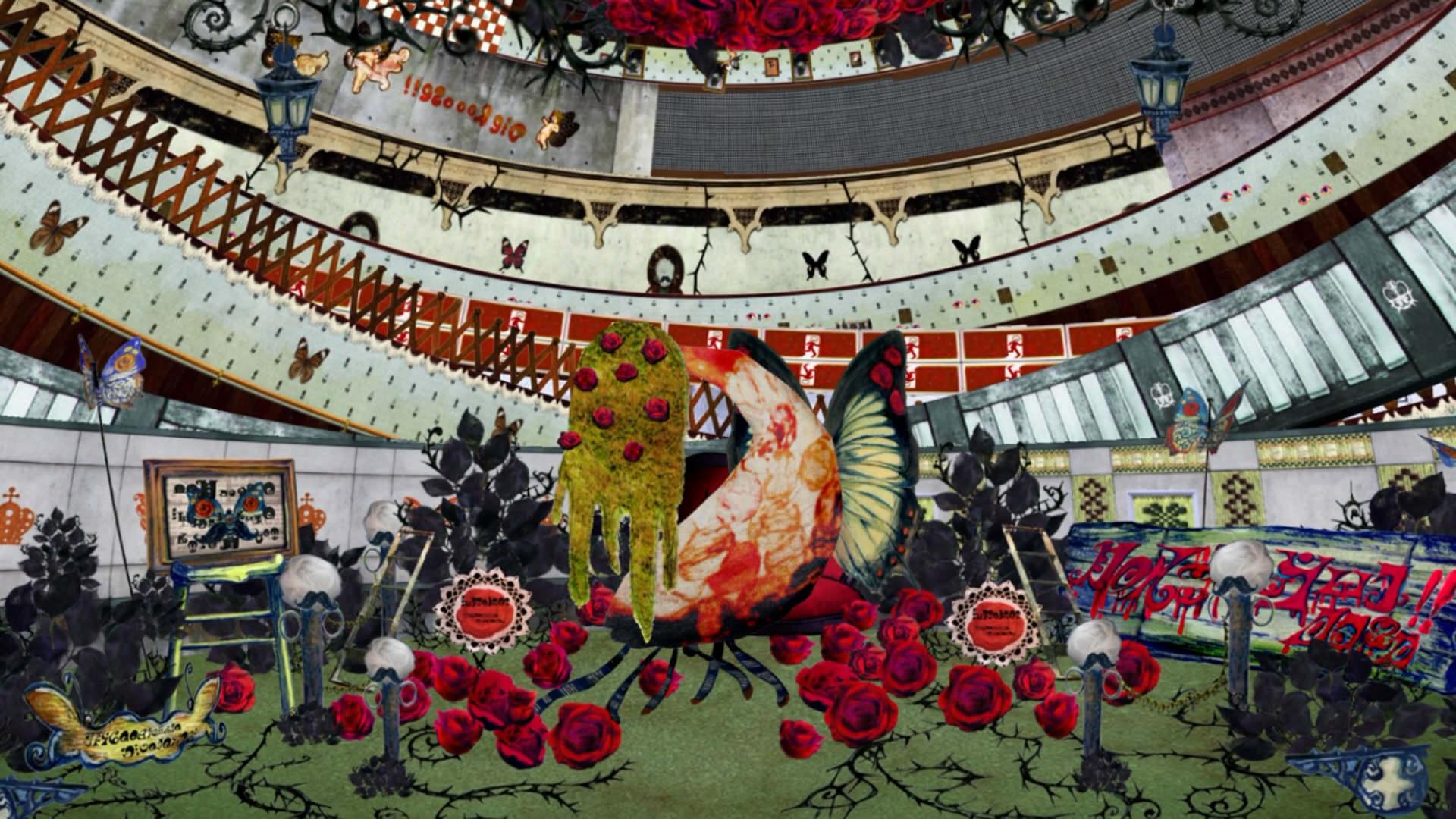 まどマギ 絶望先生 の異空間設計等で有名な劇団イヌカレー 泥犬さんが個展 床下展 4月8日 5月9日