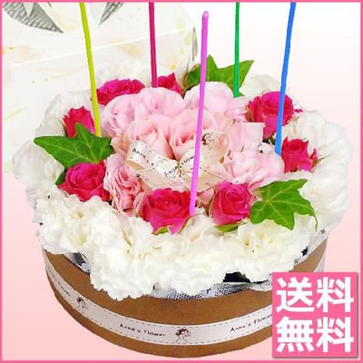 母の日プレゼント フラワーケーキ